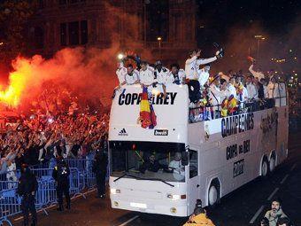 Футболисты Реала сломали Кубок Короля