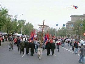 В Армении почтили память жертв геноцида