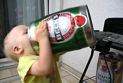 В Днепропетровске вылавливают торговцев, продающих детям пиво