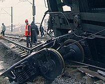 На Днепропетровщине сошли с рельс 12 вагонов поезда