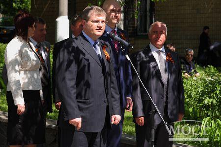 Днепропетровск торжественно отметил День Победы