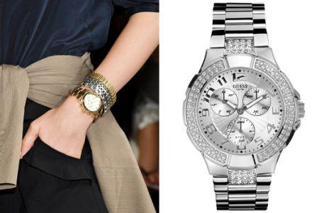 Какие браслеты лучше носить со стальными часами?