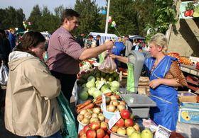 На Левом берегу открывается продуктовая ярмарка