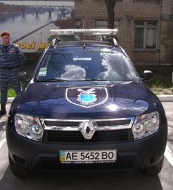 «Муниципальная гвардия» получила еще два Renault