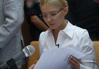 Тимошенко заболела и просит пустить к ней личного врача