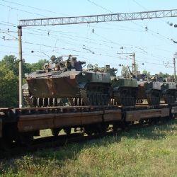 На Днепропетровщине продолжается передислокация войск