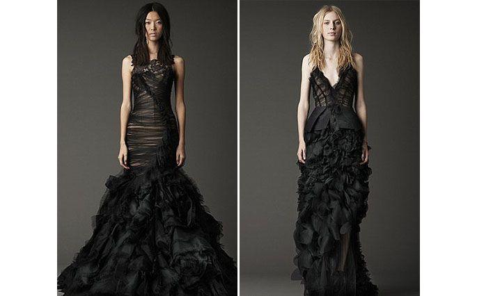 Вера Вонг выпустила свадебные платья черного цвета