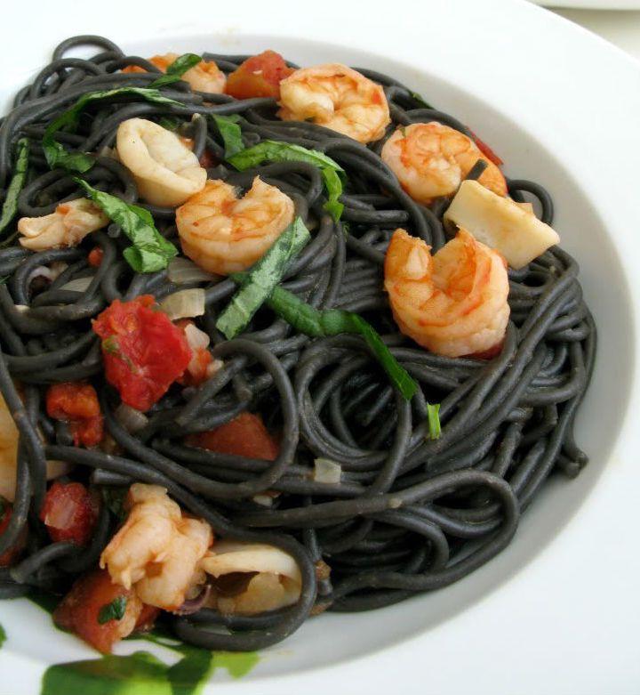 Спагетти и рестораны.