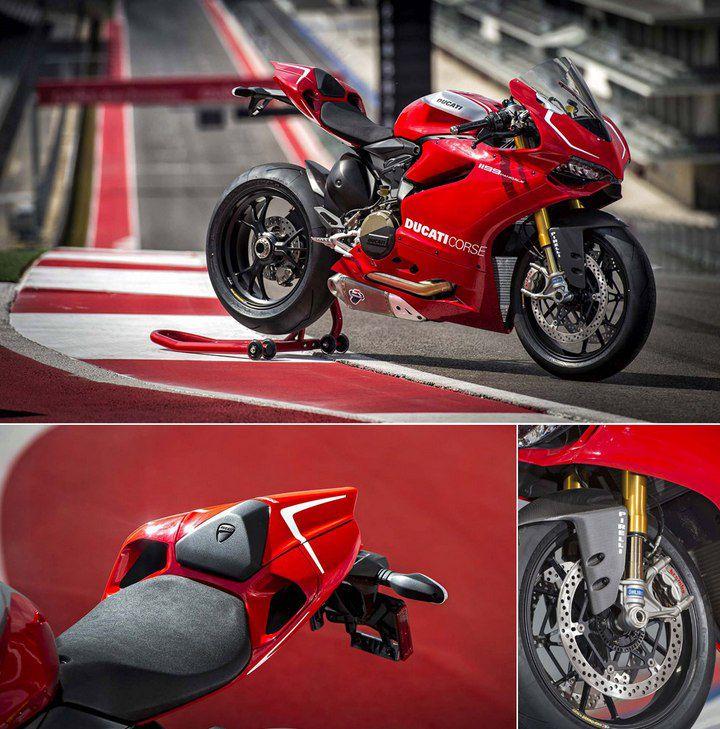 Ducati представили спортбайк Panigale R