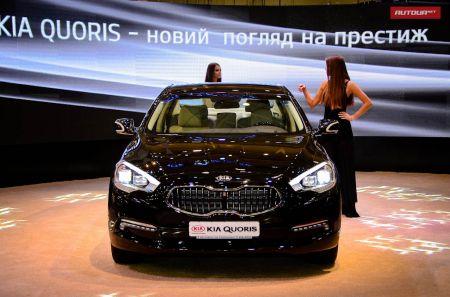 Украинская премьера Kia Quoris порадовала стартовой ценой