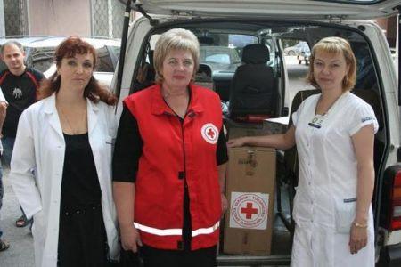 Днепропетровские больницы получили гуманитарную помощь от Чехии