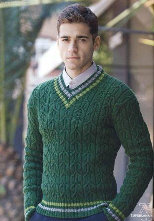 Модные мужские пуловеры этого года