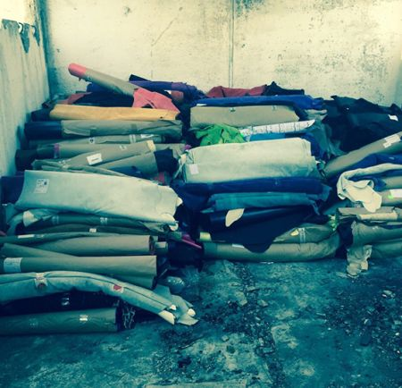 В Днепропетровске грабители украли кожи на 1,5 млн. грн.