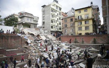 Землетрясение в Непале: число жертв превысило 8 тысяч человек, около 18 тыс. пострадавших