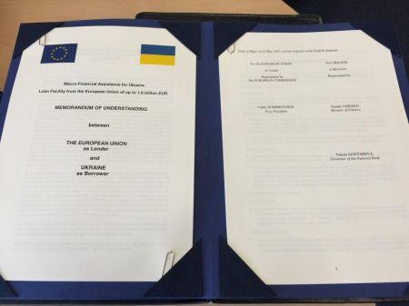 Украина получит 1,8 млрд. евро от ЕС