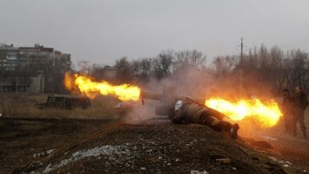 Ночь в зоне АТО прошла неспокойно - горячее всего было на Донецком направлении