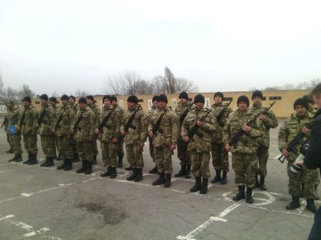 Днепропетровск не выполняет план по мобилизации