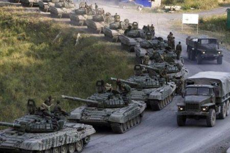 В Донецк зашли 300 российских наемников и колонна военной техники