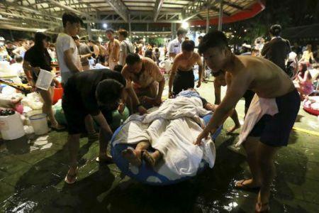Взрыв в аквапарке Тайваня: более 500 пострадавших, 183 - в реанимации (Фото)