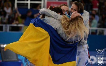Украинские саблистки стали чемпионками Европейских игр в Баку