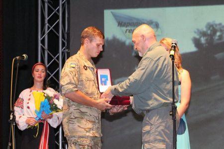 В Днепропетровске наградили Народных Героев Украины (Фото)