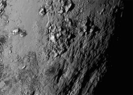 На Плутоне обнаружили горы