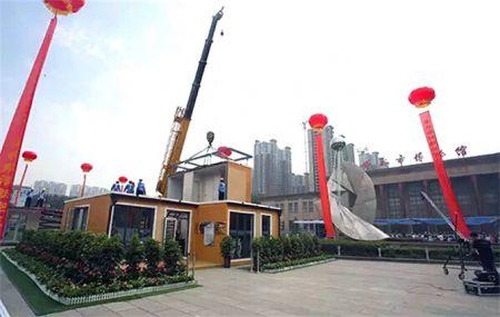 Китайцы на 3D-принтере напечатали двухэтажную виллу (Фото)