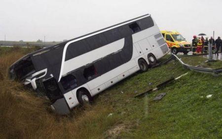 ДТП с украинцами в Румынии: 2 человека погибли, 48 пострадали