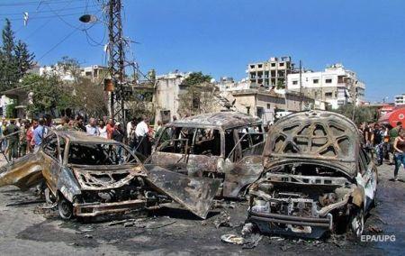 В результате двойного теракта в Сирии погибли 26 человек, 50 ранены
