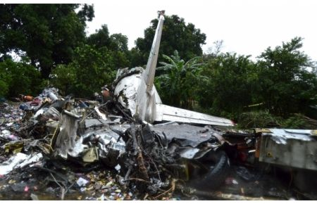 В Южном Судане разбился самолет с российским экипажем