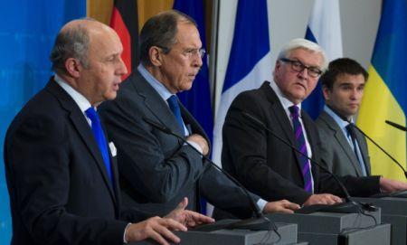 Сегодня в Берлине состоятся переговоры министров нормандской четверки