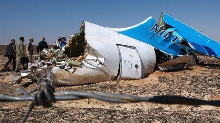 На А321 взорвалась бомба - следователи Египта