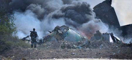 Под Днепропетровском потерпел крушение военный самолет