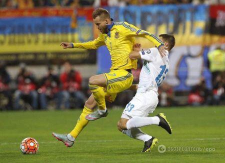 Сборная Украины вышла на Евро-2016 (ФОТО)