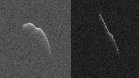 NASA опубликовало снимки астероида, который пролетит мимо Земли