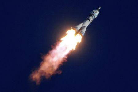 К запущенной в космос ракете прикрепили камеру