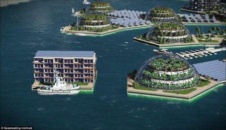 В Тихом океане появится первый плавучий город в мире