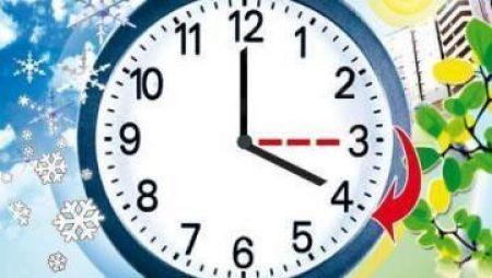 Украина перейдет на летнее время 26 марта