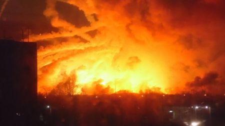 В Харьковской области взорвались склады: подробности