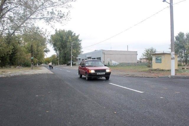 Новомосковский район получил семь обновленных дорог