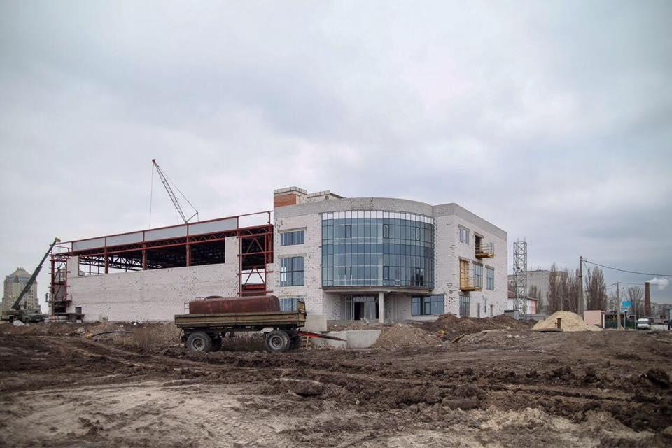 Строительство спорткомплекса началось в конце 2016-го