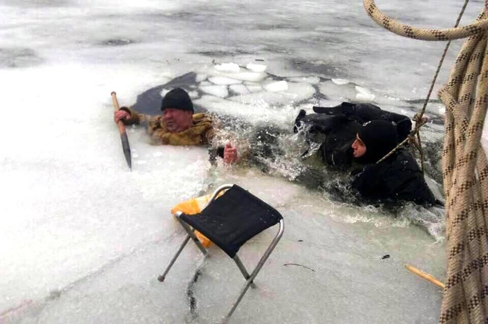 Фото операции по спасению жизни человека