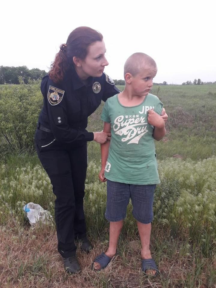 Ребенка нашли сотрудники Ювенальной превенции