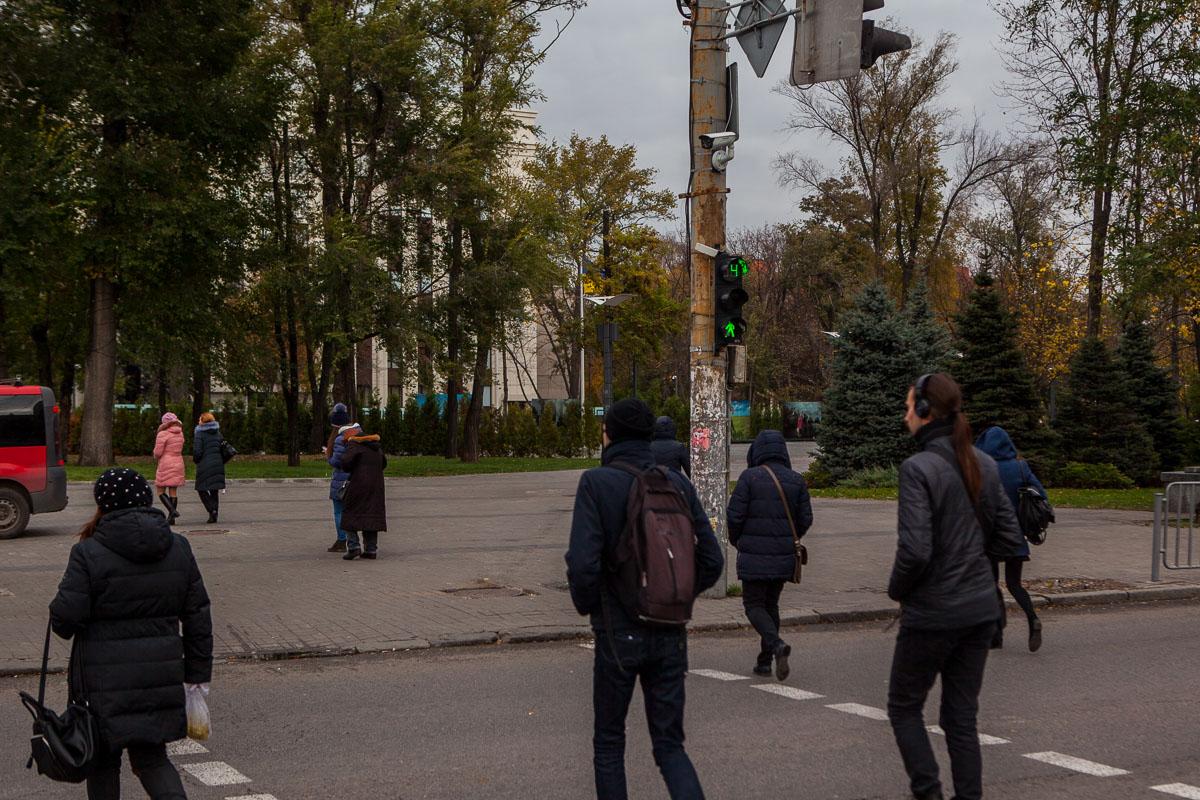 Камеры установлены на ключевых дорожных развязках города