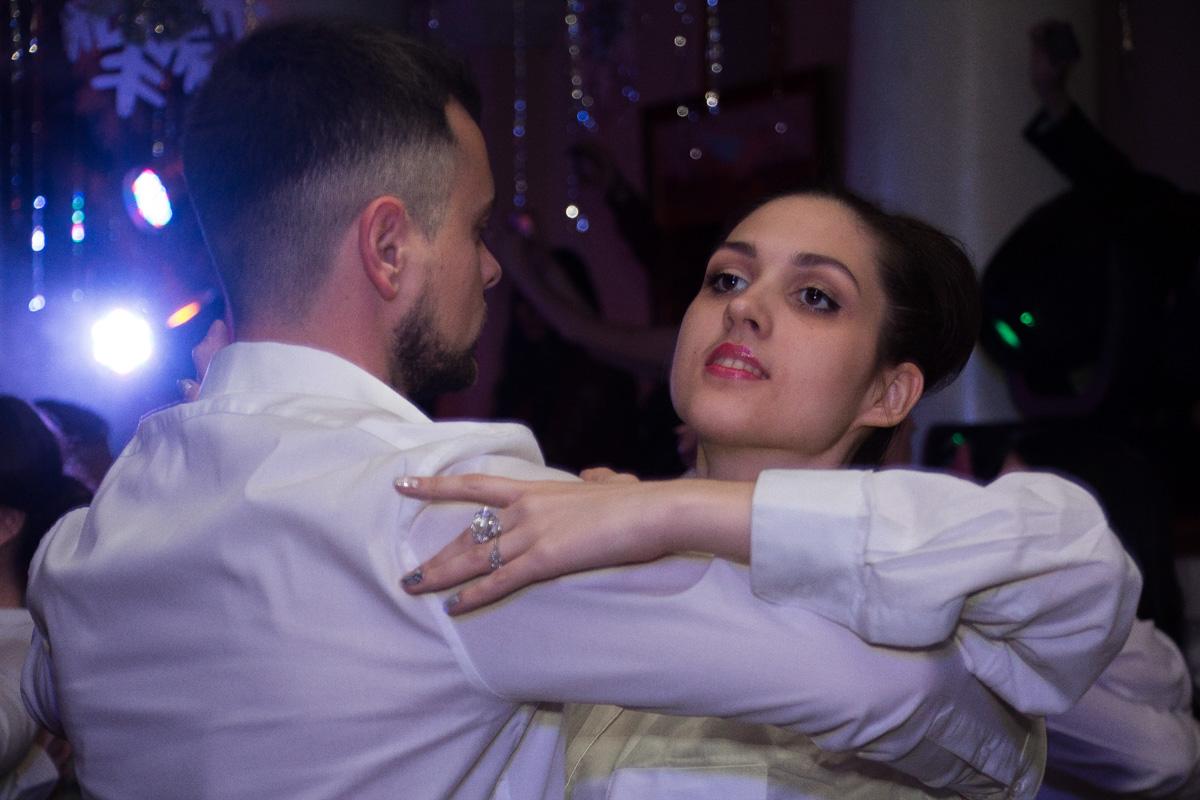 Парам нужно было много практиковаться в танцах