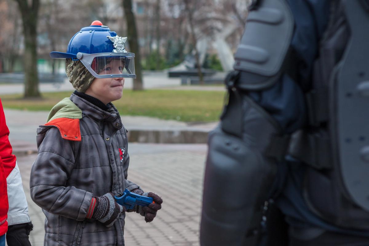 Уже готов защищать город от преступников