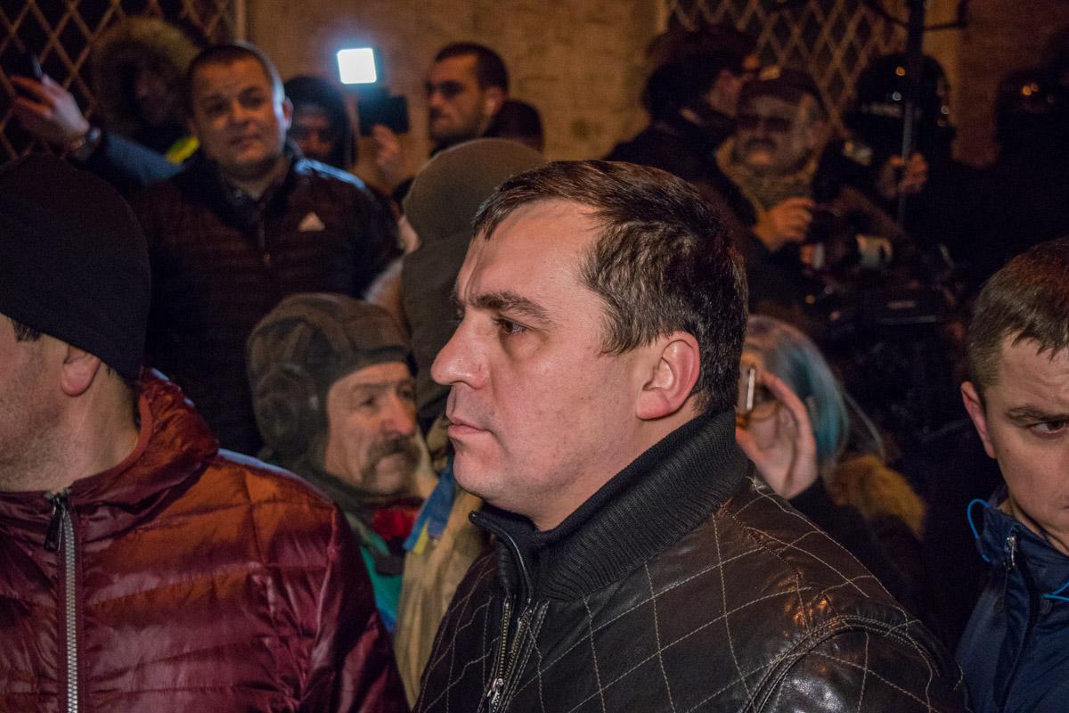 Активисты считали, что права Саакашвили нарушены
