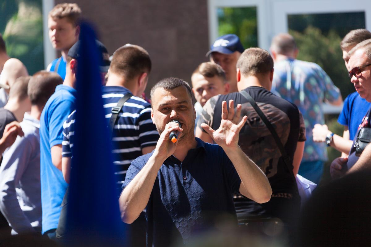 Денис Розов рассказал, что акция протеста длится уже 10-й день