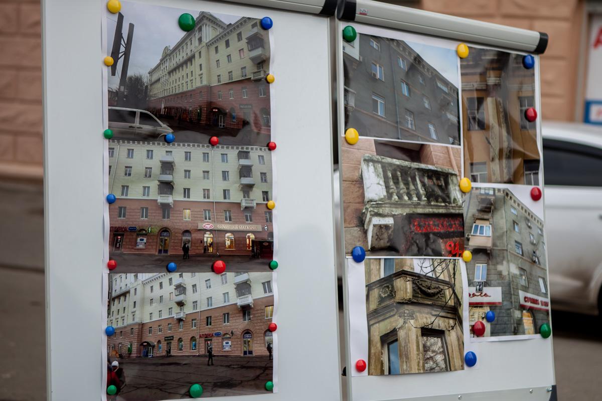 Как выглядит дом до и после реставрации на Вокзальной площади
