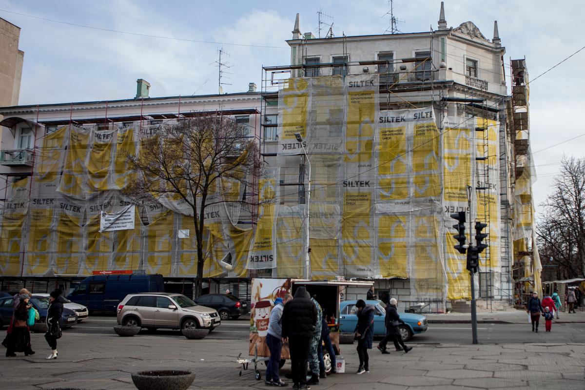 В 2017 году планируют реставрировать 14 фасадов исторических зданий